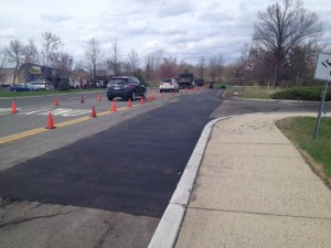 Asphalt Repair at Best Buy shopping center, Bridgewater, NJ